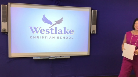 Thumbnail for entry WESTLAKE ELEMENTARY CHAPEL 4/22