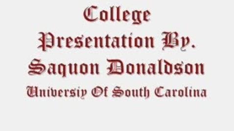 Thumbnail for entry University of South Carolina - Columbia