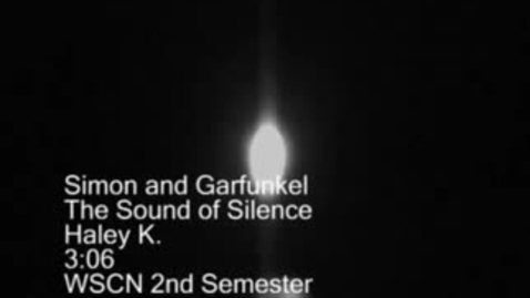 Thumbnail for entry Sound of the Silence - WSCN (2009-2010)