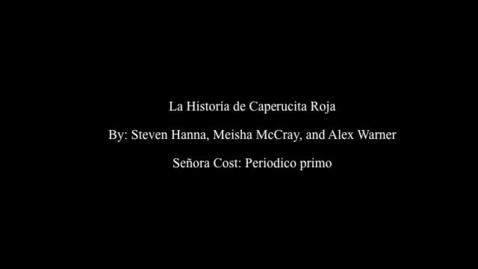 Thumbnail for entry La Caperucita Roja