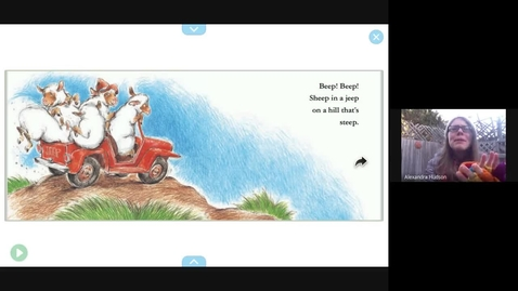 Thumbnail for entry Sheep in a Jeep