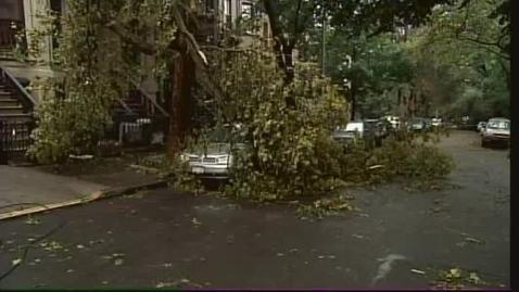 Thumbnail for entry Brooklyn-Queens, New York Tornado 9-16-10 NY1 News