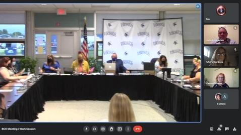 Thumbnail for entry Grand Island CSD BOE 6-21-2021 Meeting