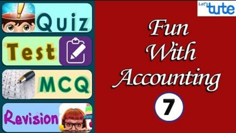 Thumbnail for entry Bank Reconciliation Statement | Fun with Accounting | 7 Questions | Letstute Accountancy