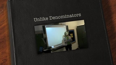Thumbnail for entry Unlike Denominators-Parkway Lafayette