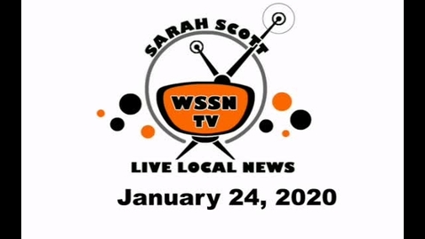 Thumbnail for entry WSSN News Jan 24, 2020