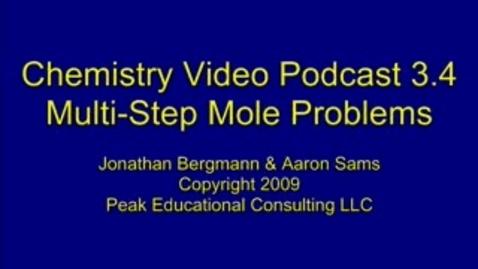 Thumbnail for entry Chem Mole4 Multi Step Mole Conversions