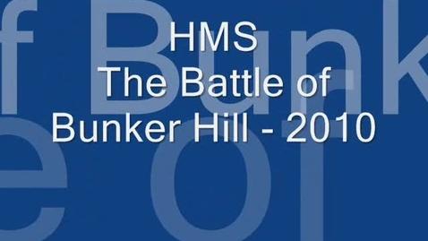 Thumbnail for entry Bunker  Hill 2010