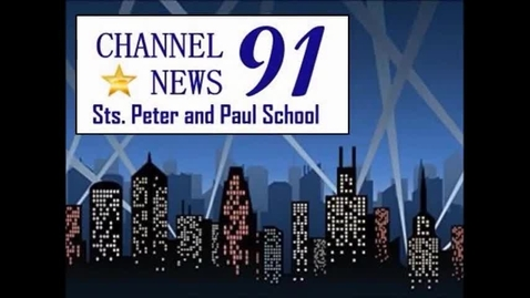 Thumbnail for entry 04/08/2015 - Channel 91 News - Sts. Peter and Paul School
