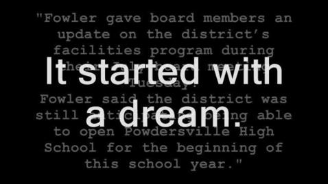 Thumbnail for entry Powdersville High School Dedication