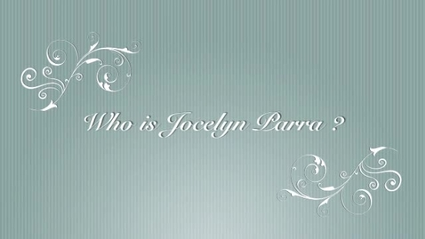 Thumbnail for entry Jocelyn Parra autobiography