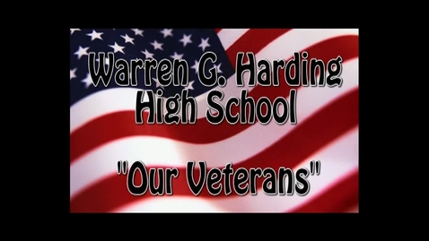 Thumbnail for entry Veteran's Day 2012 - Warren G. Harding high school
