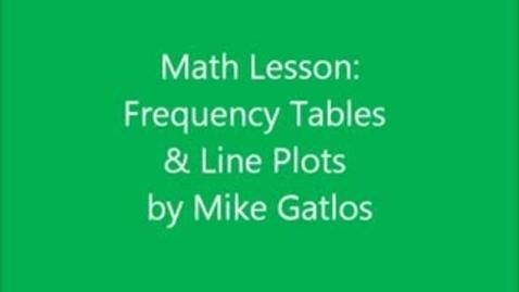 Thumbnail for entry Mike Gatlos Math Lesson