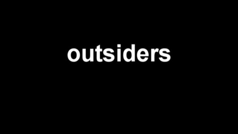 Thumbnail for entry Outsiders by Gabe