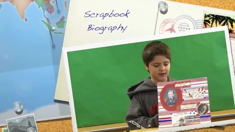 Thumbnail for entry Josh's Scrapbook Biography Book Report