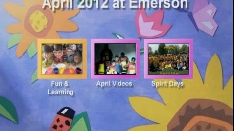 Thumbnail for entry April 2012 at Ralph Waldo Emerson Elementary School
