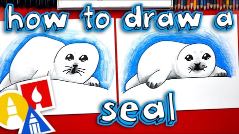 Thumbnail for entry How To Draw A Baby Seal