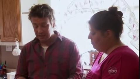 Thumbnail for entry Jamie Oliver's Food Revolution Episode 1 Part 3