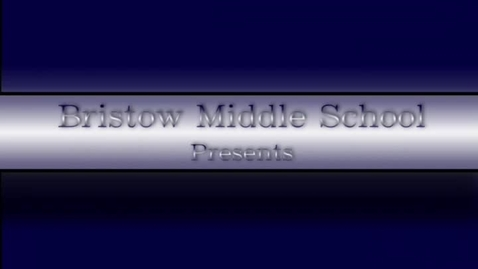 Thumbnail for entry Bristow's 5th Grade Orientation