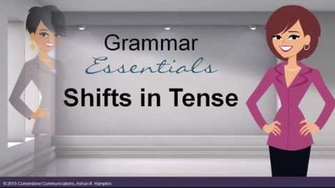 Thumbnail for entry Shifts in Verb Tense (Updated)