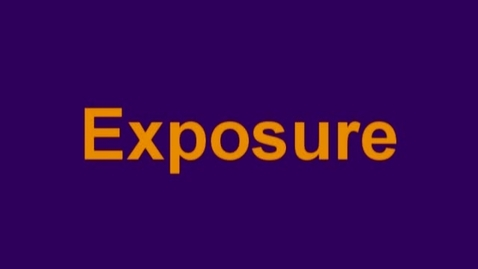 Thumbnail for entry exposure