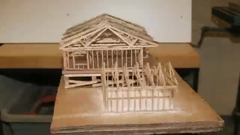 Thumbnail for entry Scale model home 3D spin