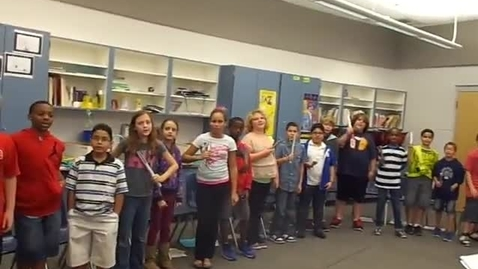 "Thumbnail for entry 13-14 Ms. Gomez's 5th grade class ""Jingle Bells"""