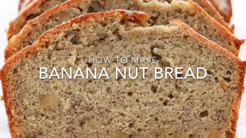 Thumbnail for entry Banana Nut Bread - Dwayne