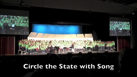 Thumbnail for entry Circle the State with Song 2015