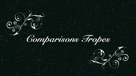 Thumbnail for entry Tropes: Comparisons