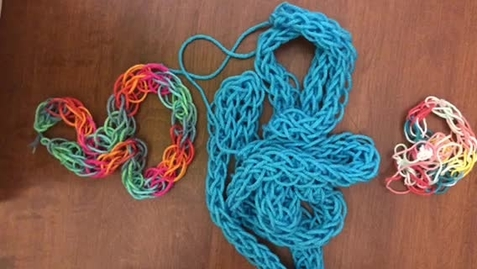 Thumbnail for entry Finger Weaving (Optional Project)
