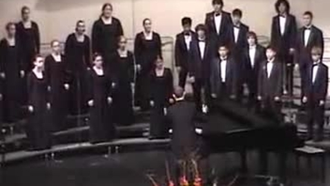 Thumbnail for entry You Are the New Day: W.T. Woodson Select Vocal Ensemble