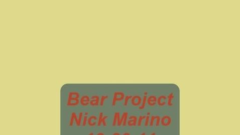 Thumbnail for entry Black Bear Video - Nick Marino - 2b