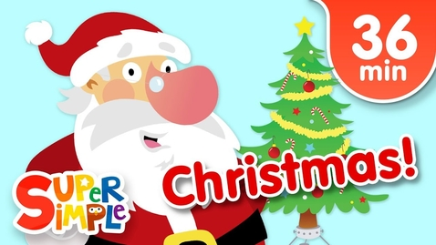 Thumbnail for entry Our Favorite Christmas Songs for Kids | Super Simple Songs