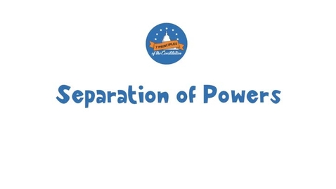 Thumbnail for entry 20-2 Separation of Powers
