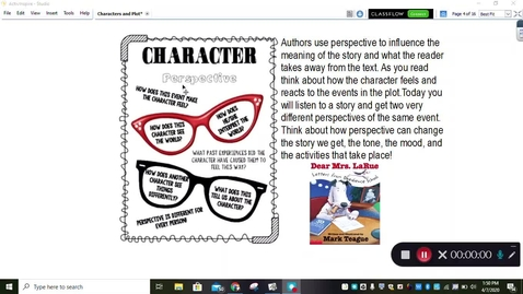 Thumbnail for entry Perspective Reading Mini-Lesson