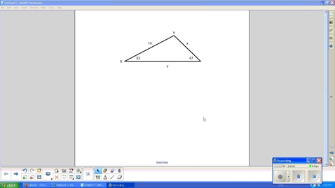 Thumbnail for entry Law of Sines, Introduction to equation -- Juda Math