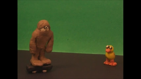 Thumbnail for entry 2016 JMS Claymation Bigfoot on a Board