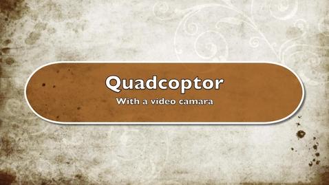 Thumbnail for entry Webb promo-quadcopter