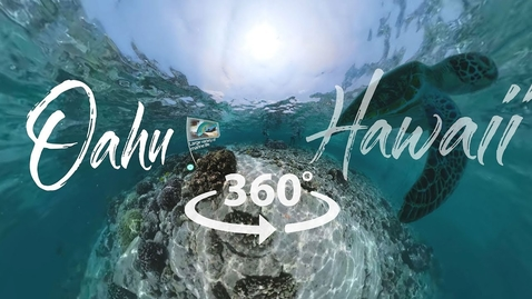 Thumbnail for entry Take a 360° Video Tour of Oahu, Hawai'i