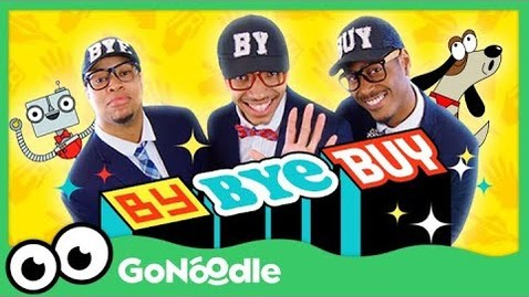 Thumbnail for entry By Bye Buy - Blazer Fresh | GoNoodle