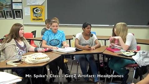 Thumbnail for entry GenZ Gold Artifact - Headphones (Mr. Spike's Class)