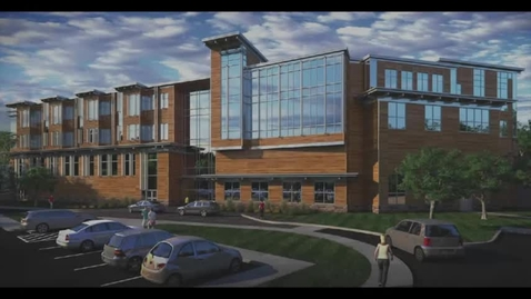 Thumbnail for entry Topping off Ceremony of New Sterling Middle School