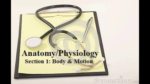 Thumbnail for entry EMT Anatomy Physiology Lesson 1