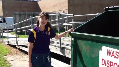 Thumbnail for entry Sam Houston High School Goes Green