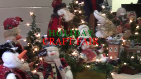 Thumbnail for entry Holiday Craft Fair