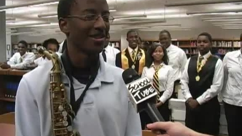 Thumbnail for entry Beta Club Interview: East St. Louis H.S.