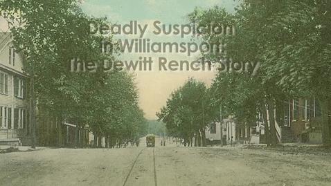 Thumbnail for entry Chesapeake & Ohio Canal (1862/2012): Deadly Suspicion