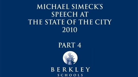 Thumbnail for entry Michael Simeck's State of the City 2010 - Part 4