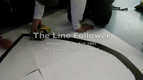 Thumbnail for entry Line Follower